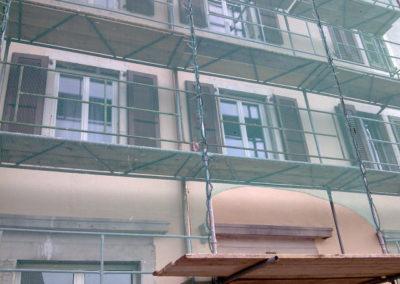 Montage  pour la rénovation de façades ou de toitures