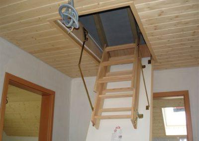 Escalier galetas type roto